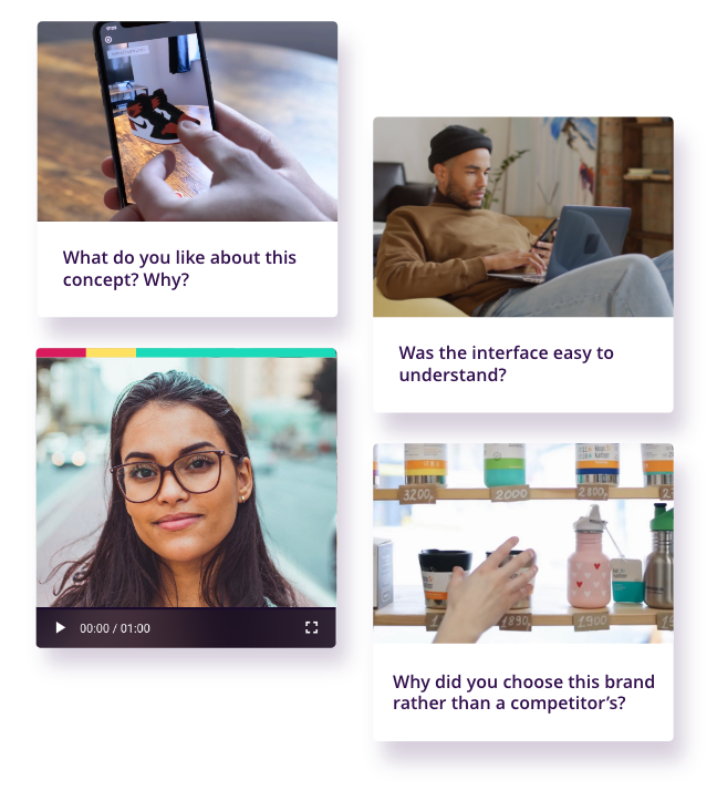 Example Video Survey Use Cases